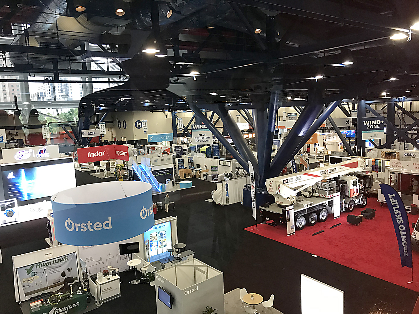 WINDPOWER 2019 attendees got a preview of the multi-tech trade show future